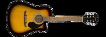 Fender FA-125CE Acoustic Electric Guitar - Natural/Black/Sunburst