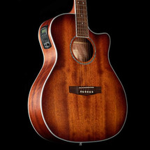 CORT GA-MEDX M Open Pore Mahogany Grand Auditorium Acoustic/Electric Guitar