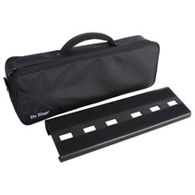 On Stage Mini Pedal Board with Carry Bag - Fits 5 Pedals