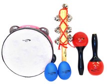 Percussion Plus 4 Piece Set in Carry Bag