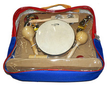 Percussion Plus 9  Piece Set in Carry Bag