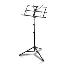 Armour M3129B Heavy Duty Folding Music Stand - Black with Carry Bag