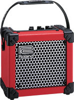 Roland Micro Cube Amplifier - RED/BLACK/WHITE