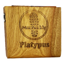 """Macdaddy MDP1 """"Platypus"""" Compact Stomp Box in Natural Finish"""