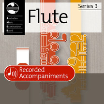 AMEB Flute Series 3 Grade 2 Accompaniment CD