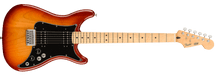 Fender Player Lead III Electric Guitar - Sienna Sunburst/Olympic White and Purple
