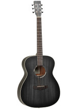 "Tanglewood ""BLACKBIRD SERIES"" Orchestra Acoustic/Electric Guitar - Smokestack Black Satin"