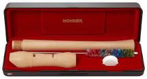 Hohner 9534 C Soprano Maple Recorder - 2 pieces - in Case