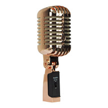SoundArt 'Vintage' Antique Copper Dynamic Microphone with Deluxe Carry Case