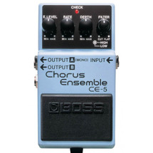 BOSS CE5 Chorus Ensemble Guitar FX Pedal - Great Pedal