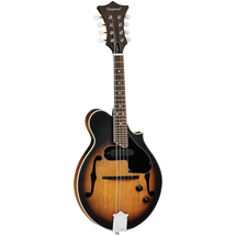 Tanglewood SCROLL Cut Away Mandolin with Spruce Top - Vintage Sunburst