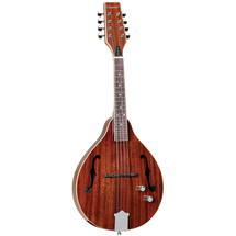Tanglewood Teardrop Mahogany Mandolin - SOLID TOP with Pick UP