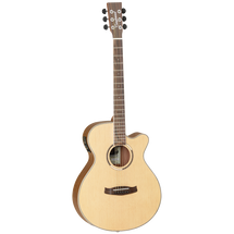 Tangelwood Discovery Exotic Ovangkol Superfolk Acoustic/Electric Guitar