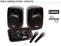 LANEY Audio Hub Portable PA System with Mic Pack