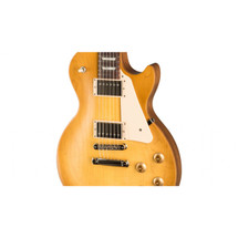 GIBSON - Made in USA - Les Paul Tribute Satin Electric Guitar in Gig Bag - Honeyburst