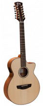 Faith Trembisi 12 String Acoustic Electric Guitar in HARDCASE