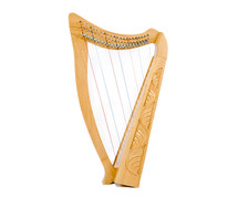 Heather 22 String Folk Harp with Carry Bag