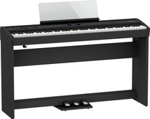Roland FP60X Digital Piano Stand / Pedal Board / Throne - Black or White
