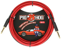 Pig Hog 10ft Instrument Cable - RED/BLUE