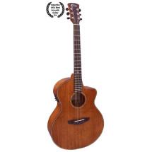 FAITH NEPTUNE Mahogany Gloss Acoustic/Electric Guitar in Hardcase