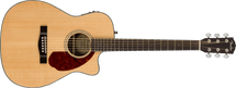 Fender CC-140SCE Concert Acoustic/Electric Guitar in HARDCASE