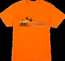 "Fender ""Hang Loose"" Unisex T Shirt  - Orange"