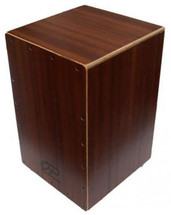 Opus Wooden Cajon in Sapele with Deluxe Carry Bag