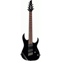 Ibanez RGMS7-BLK 7 String Fan Fret Electric Guitar