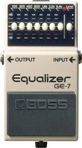 BOSS GE-7 Graphic Equalizer FX Pedal