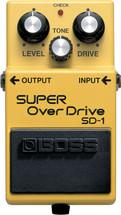 BOSS SD-1 Super Overdrive FX Pedal