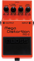 BOSS MD-2 Mega Distortion FX Pedal