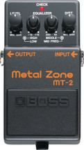 BOSS MT-2 Metal Zone FX Pedal