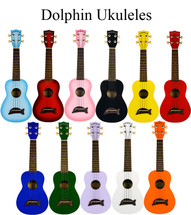 Makala Dolphin Ukulele - Assorted Colours