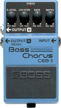 BOSS CEB-3 Bass Chorus FX Pedal