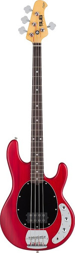 Trans Red Satin Ray 4 Music Man Sub
