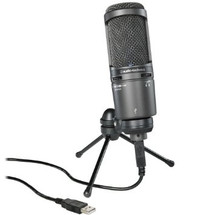 Audio Technica AT2020 USB Large Diaphragm Condenser Mic