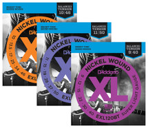 D'Addario Nickel Wound XL Series Electric Guitar Strings