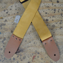 "2"" Soft Tan Guitar Strap"