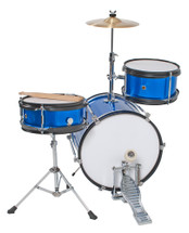 DXP JUNIOR DRUM KIT - BLUE/RED/PINK/PURPLE/BLACK in the box