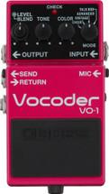 BOSS VO-1 Vocoder FX Pedal