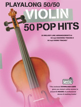 Playalong 50/50 Pop Hits - Violin Book and Backing Track Download