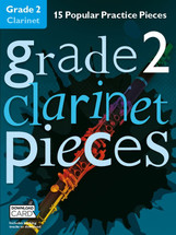 GRADED PIECES Grade 2 - 15 Popular Practice Pieces with Backing Tracks for Flute/Clarinet/Alto Sax/Violin