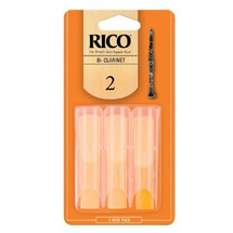 RICO Bb Clarinet Reeds - 3 PACK