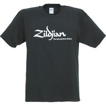 Zildjian T Shirt - Black/White Logo