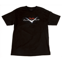 "Fender ""Custom Shop"" Black T Shirt"