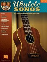 UKULELE SONGS - Ukulele Play-Along Volume 13 Book & CD