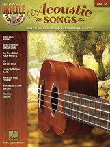 Acoustic Songs Ukulele Play-Along Volume 30 Book & CD