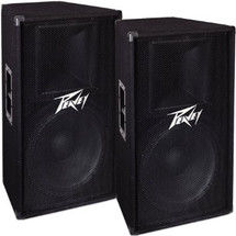 PEAVEY PV115 Speaker Box - 800 watts Peak PAIR