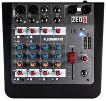 Allen & Heath AHZED6 Compact Analogue Mixer