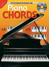 Progressive Piano Chords Book & CD